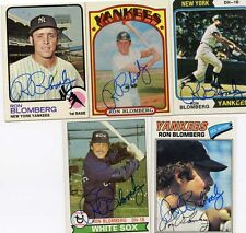 Yankees Ron Blomberg signed 1972 Topps Card