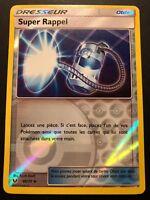 Carte Pokemon SUPER RAPPEL 66/73 REVERSE Soleil et Lune 3,5 SL3.5 FR NEUF
