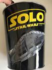 Star Wars Solo Popcorn Collectible Tin Bucket Golden link 2018 Lucas Film