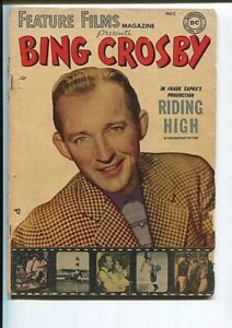 FEATURE FILMS 2 GD BING CROSBY PHOTO COVER 1950