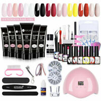 UR SUGAR  Builder Nail UV Gel Polish Tips Extension Soak off Lamp Dryer Kit
