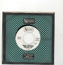 NORTHERN SOUL-MARV JOHNSON-UNBREAKABLE LOVE/THE MAN WHO DIDN'T BELIEVE IN LOVE