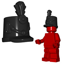 Custom SHAKO British Hat for Lego Minifigures -Imperial Soldiers- Black or Brown