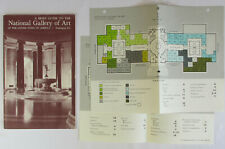 Vintage 1967 NATIONAL GALLERY OF ART Souvenir Guide Book Washington DC MAP Photo