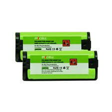 2PC Cordless Phone Battery Replacement 5/4AAA 850mAh 2.4V for Panasonic HHR P105