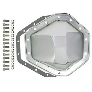 """Chevy / GMC 14 Bolt Chrome Steel Differential Cover 10.5"""" RG 1982-2000 GM 2500"""