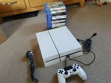 Sony PlayStation 4 PS4 500GB White Console - 14 Games