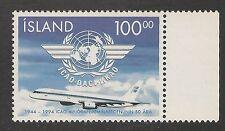 Iceland #792 VF MNH - 1994 100k ICAO, 50th Anniversary - SCV $4.00