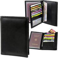 CASH Brieftasche, 16 Kartenfächer, Geldbörse Portemonnaie Geldbeutel Geldtasche