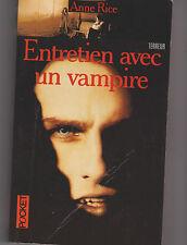 Entretien Avec Un Vampire - Anne Rice. Pocket . Tom Cruise en couverture  .