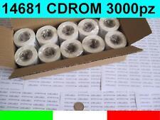 14681 10x ROTOLI ETICHETTE COMPATIBIL DYMO LABELWRITER per CD DVD S0719250 30854