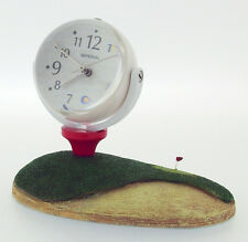 Novelty Miniature Golf Mag. Globe Clock