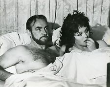 SEAN CONNERY LESLEY-ANNE DOWN THE FIRST GREAT TRAIN ROBBERY 1978 VINTAGE PHOTO 1