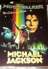 Michael Jackson Moonwalker Coloring Book MINT..very HTF (1988, Paperback)
