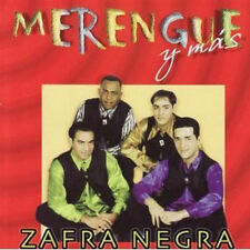 Zafra Negra Merengue Y Mas Music CD NEW