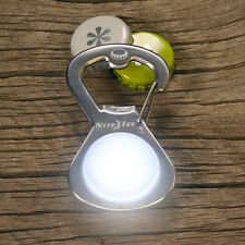 Nite Ize GetLit S-Biner Bottle Opener Light Stainless Steel SBL-03-11