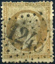 FRANCE EMPIRE N°21 OBLITÉRATION GC 1245 CUBLIZE RHONE