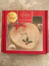 "Lenox American By Design Sentiment Heart Dish ""Joy"""