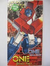 Fantástico Transformers uno caerán Cartel Tarjeta Cumpleaños tarjeta de saludo