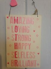 Shabby Chic Amazing Mother Plaque