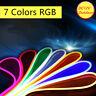 DC12V RGB Neon LED Rope Light Flex Boat Bar Project Store KTV Sign Decor Outdoor
