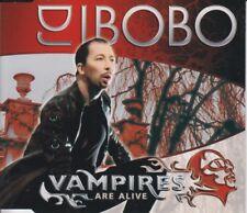DJ Bobo 4 track cd single Vampires Are Alive Eurovision Song Contest 2007