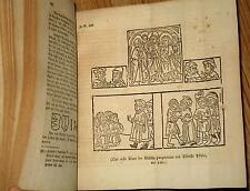 RARE German 1823 Xylography,Woodcuts Geschichte der Holzschneidekunst J.Heller