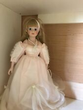 consumers distribution Beautiful Pink Dress Blonde Hair china doll T30