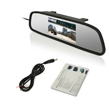 Car SUV Rear View LCD TFT Colorful DVD Display 4.3 inch HD Mirror Safety Screen