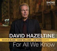 David Hazeltine – For All We Know / Smoke Sessions CD New