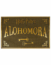 Harry Potter Doormat Alohomora Rubber Welcome Home Mat HP Gift