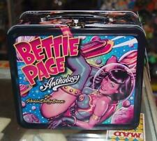 Rockin' Jelly Bean BETTIE PAGE METAL LUNCHBOX Gift new