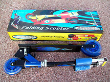 Trotinette 2 roues alu pliable et réglable patinette 2 wheels