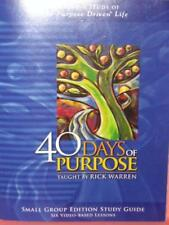40 Days of Purpose (Small Group Edition Study Guid