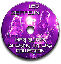 52 x LED ZEPPELIN STYLE ROCK GUITAR MP3 BACKING TRACKS CD ANTHOLOGY LIBRARY