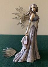 * WINTER FANTASIA * Dragonsite Jessica Galbreth Fairy  RETIRED Broken Wing