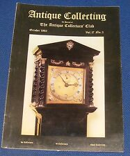 ANTIQUE COLLECTING OCTOBER 1982 - HERCULES BRABAZON BRABAZON/PLYMOUTH POTTERIES