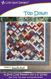 Top Down Quilt Pattern by Cozy Quilt Designs
