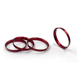 Metal Hub Centric Ring 72.56mm OD, 63.40mm ID (4 Pack)