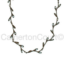 "Pussy Willow Delicate 16"" Adj. Necklace By Michael Michaud #7612BZWP"