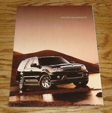 Original 2003 Lincoln Navigator Sales Brochure Folder 03