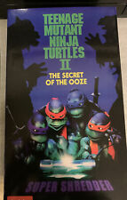 NECA TMNT Teenage Mutant Ninja Turtles 2 SUPER SHREDDER Secret of the Ooze 2021