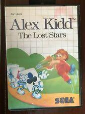 Alex Kidd The Lost Stars Sega Master System 1988 Video Game