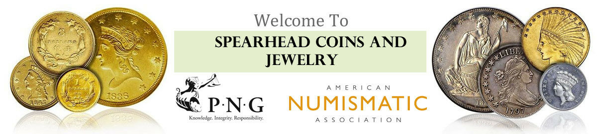 Spearhead Coins and Jewelry