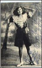 1912 Foto-AK MELA KLIMEK Soubrette Stempel Gelsenkirchen alte Postkarte