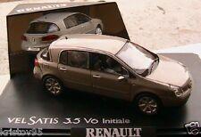 RENAULT VELSATIS 3.5 V6 INITIALE 2001 PHASE 1 BEIGE ANGORA NOREV 518300 1/43