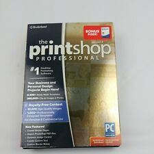 Brand New/Sealed The Printshop Professional Version 4 Broderbund