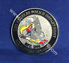 LAPD Air Support Challenge Coin Buzzard Logo two sided - Official LAPD