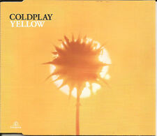 COLDPLAY Yellow w/ 2 UNRELEASED TRX Europe CD single SEALED USA Seller 2000