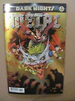Dark Nights Metal #6 DC Comic 2017 Series Foil Cover 1st Print 9.6 Near Mint+